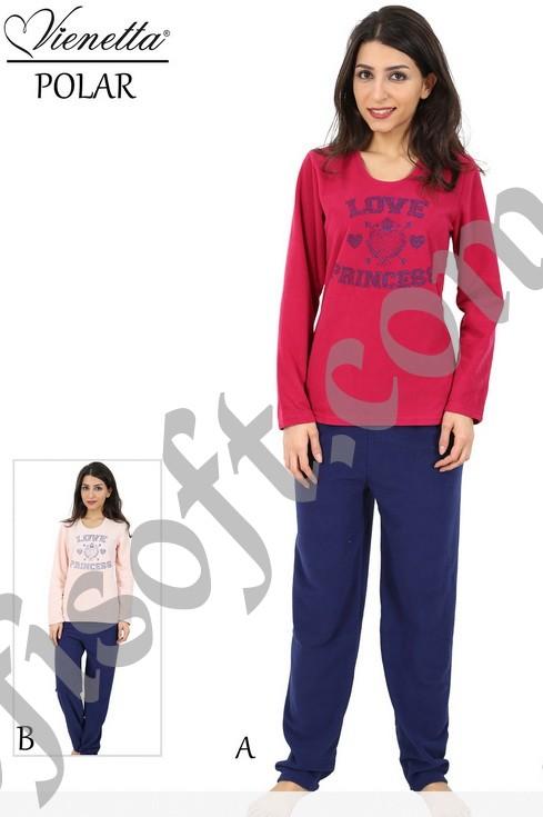 Пижама женская Флис 4122093121