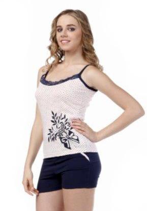 Пижама женская шорты Metin 8342