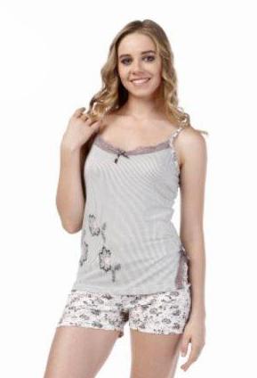 Пижама женская шорты Metin 8350