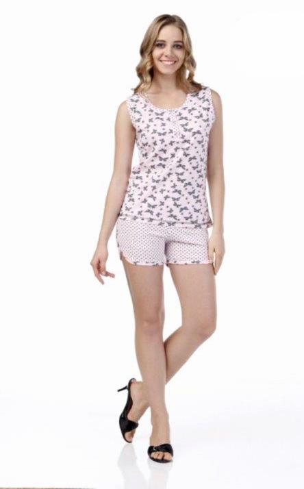 Пижама женская шорты Metin 8374
