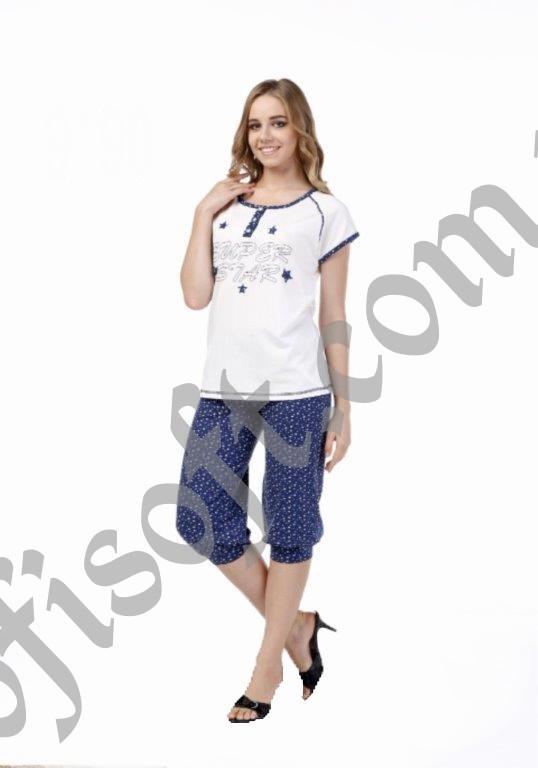 Пижама женская капри Metin 9190