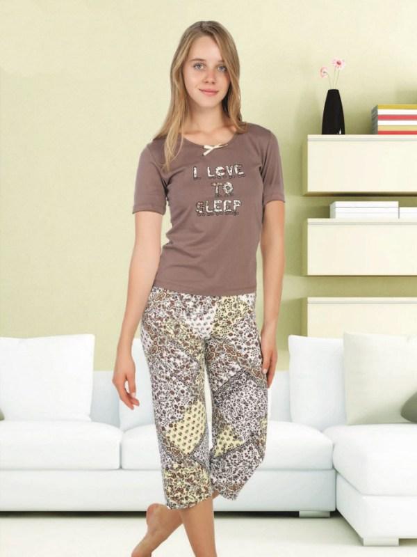 Пижама женская капри Cocoon 852 KK