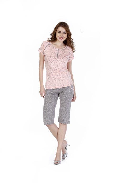 Пижама женская капри Metin 9240