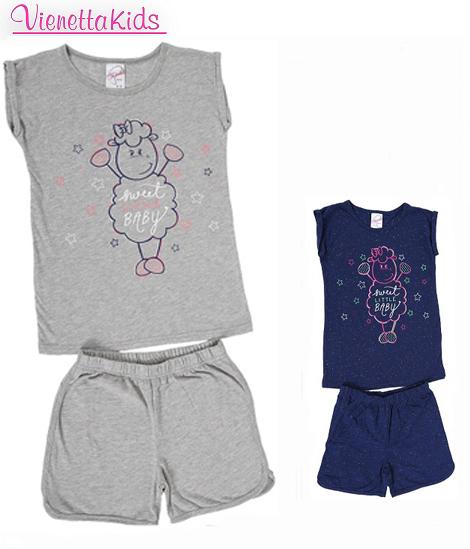 Пижама детская шорты 4082434870