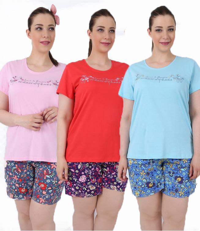 Пижама женская Шорты 4100614007