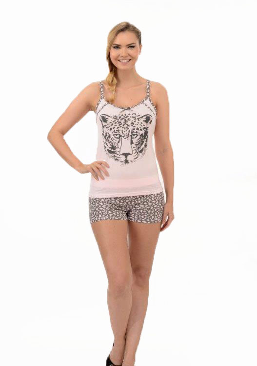 Пижама женская шорты Metin 8222