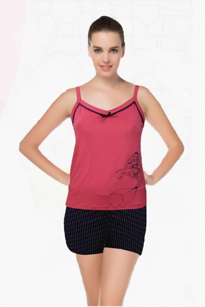 Пижама женская шорты Metin 8576
