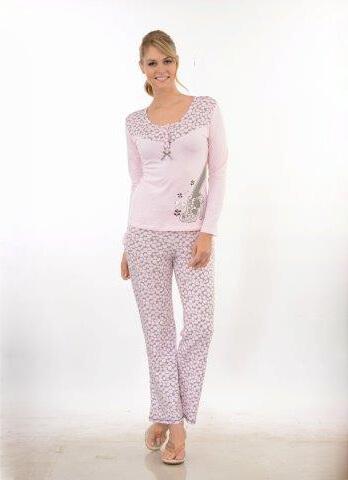 Пижама женская брюки Metin 5708