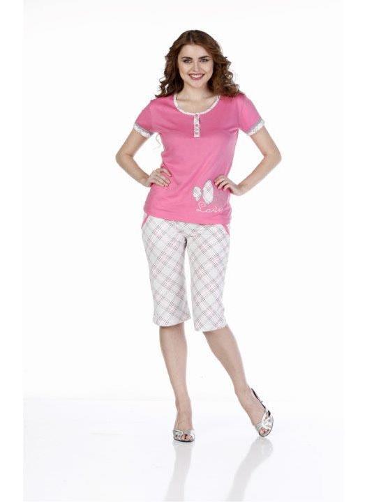 Пижама женская капри Metin 9226