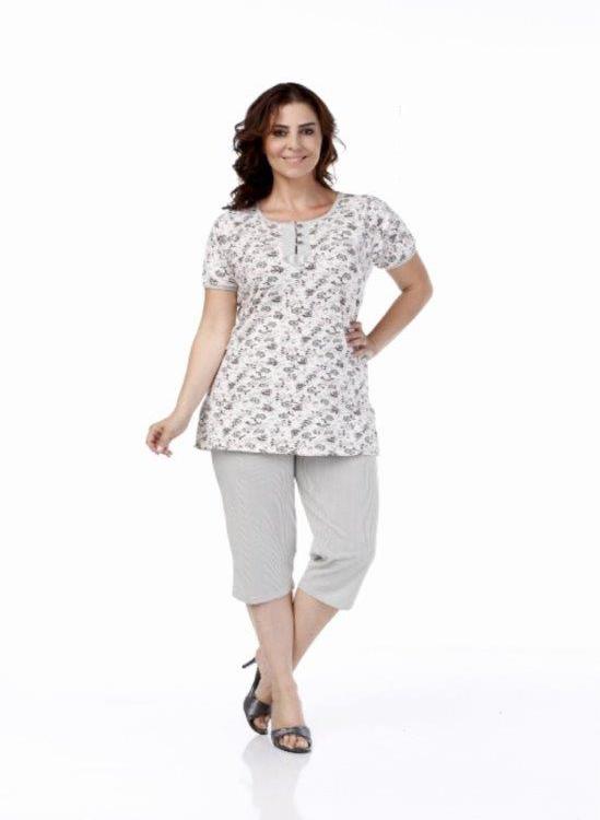 Пижама женская капри Metin 9977