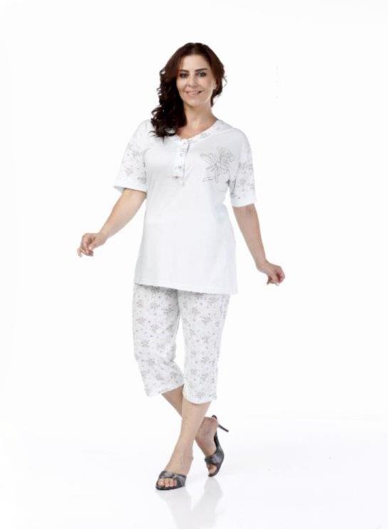 Пижама женская капри Metin 9981