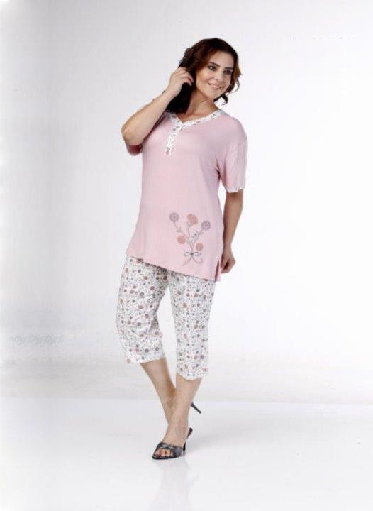 Пижама женская капри Metin 9983