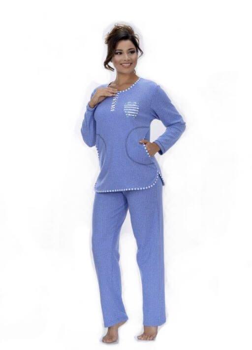 Пижама женская брюки Metin 5744