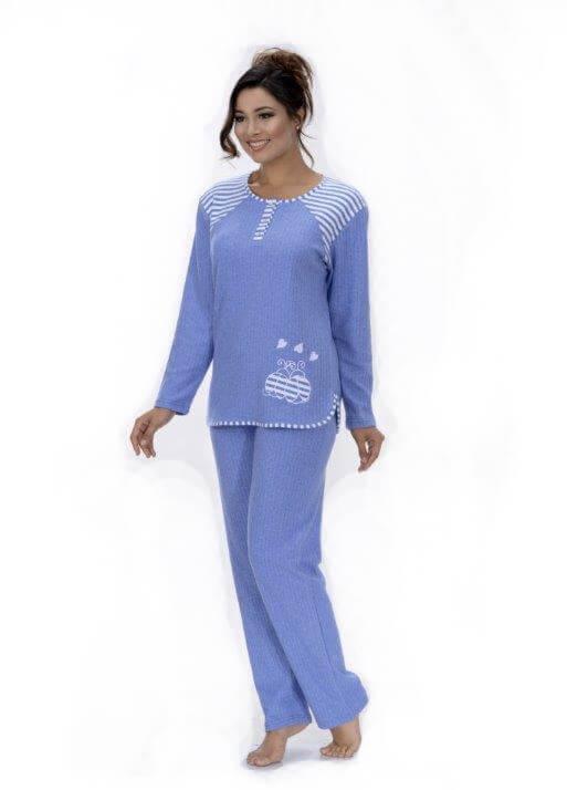 Пижама женская брюки Metin 5752
