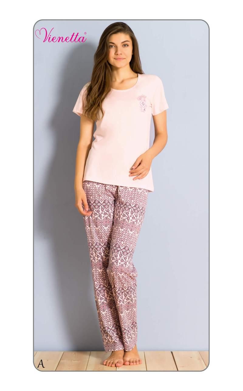 Пижама женская брюки 6041575166