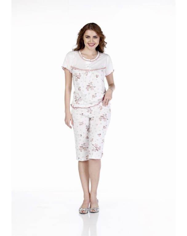 Пижама женская капри Metin 9242
