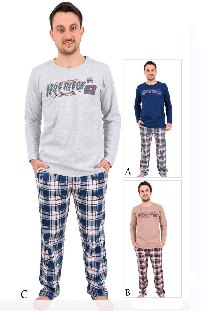 Пижама мужская Байка 4041153072