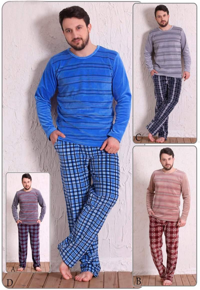 Пижама мужская велюр 5090114556