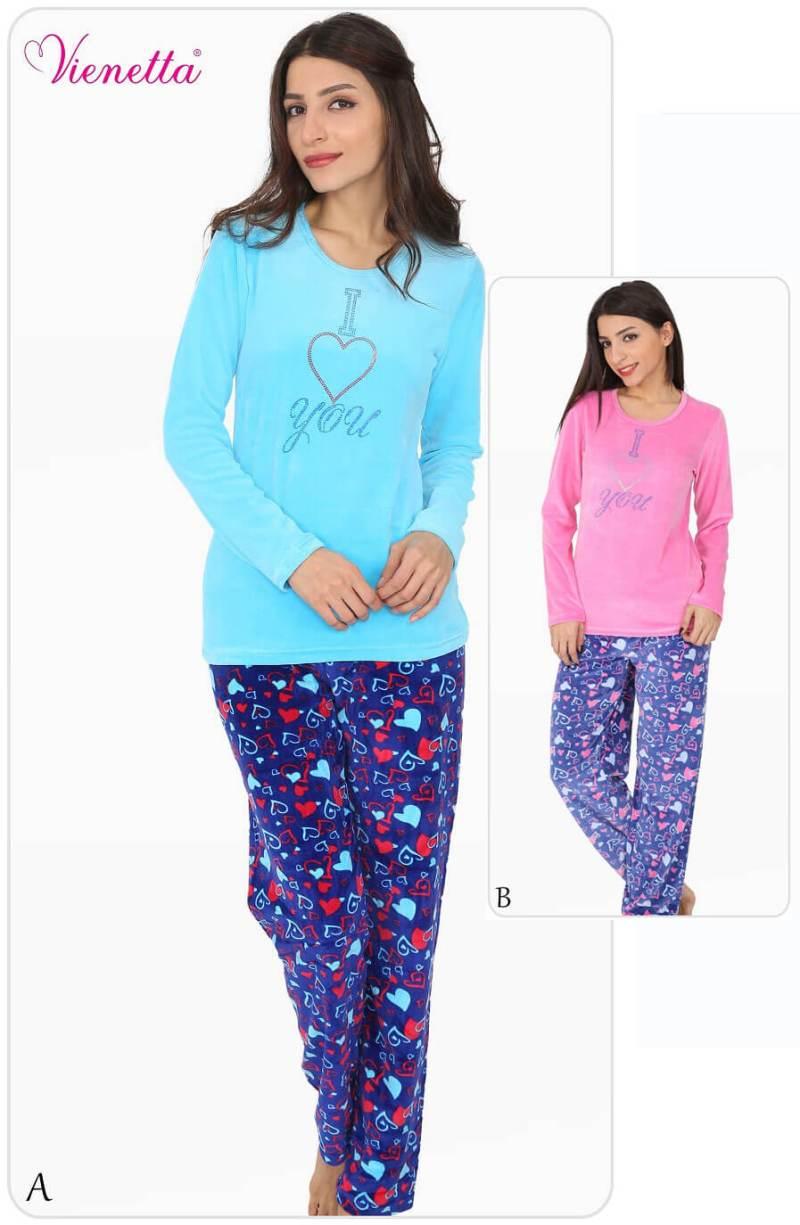 Пижама женская велюр
