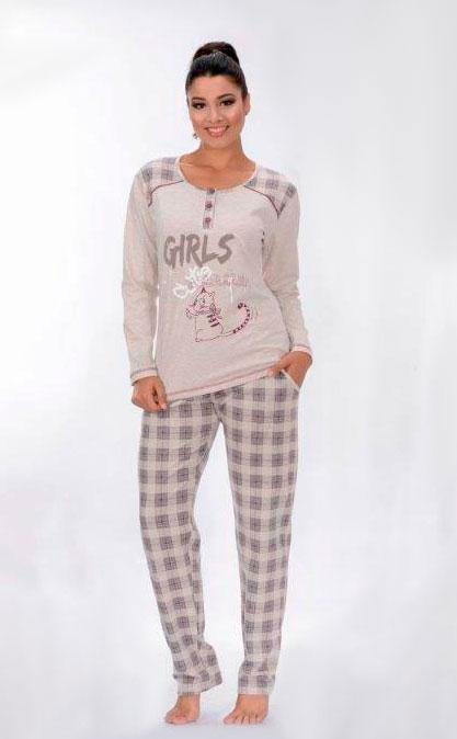 Пижама женская брюки Metin 5758