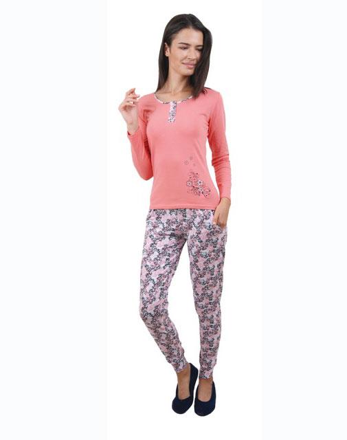 Пижама женская брюки 86671