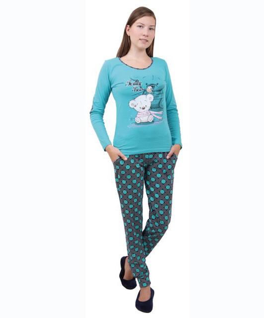 Пижама женская брюки 86715