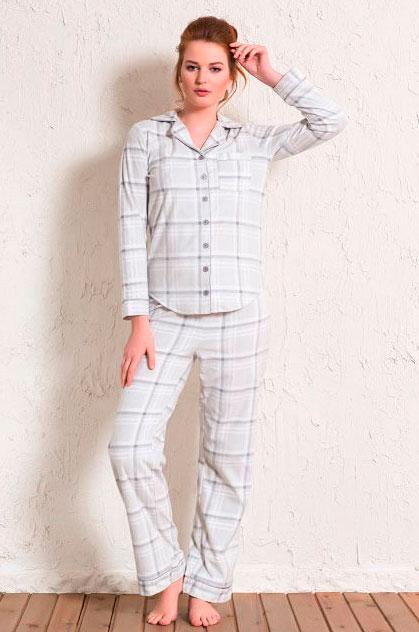 Пижама женская Флис 1601323318
