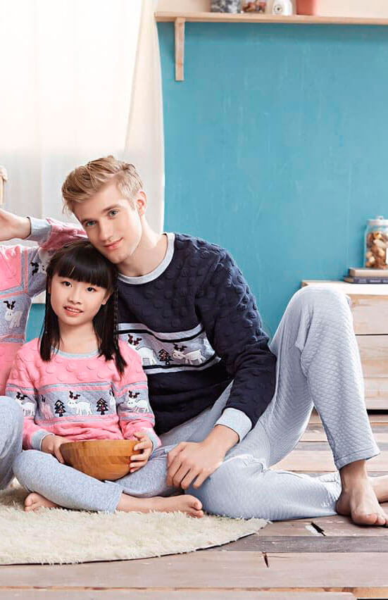 Пижама детская Jade Aubergine 666011