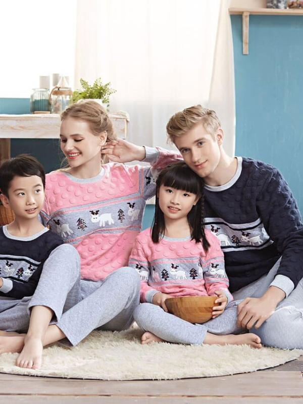 Пижама детская Jade Aubergine 666009