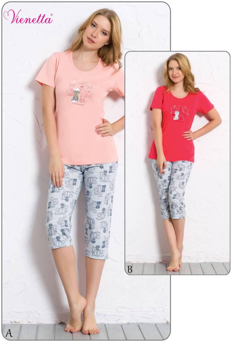 Пижама женская Капри 6080390322
