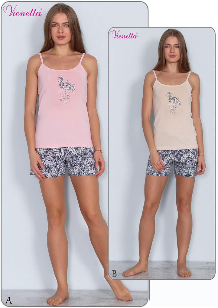 Пижама женская шорты 6091418517