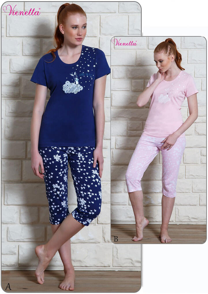 Пижама женская Капри 6100330356