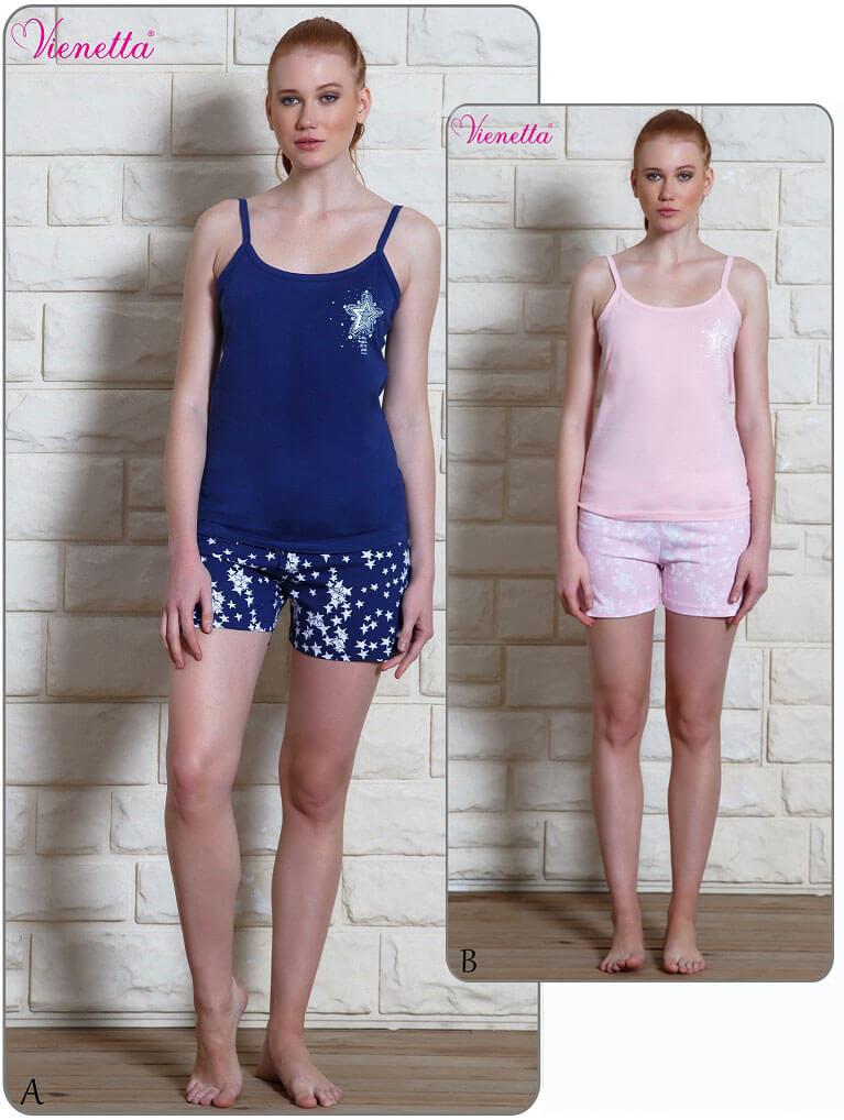 Пижама женская Шорты 6100350356