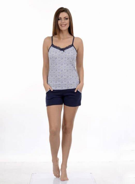 Пижама женская шорты Metin 8648