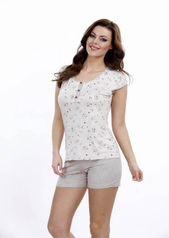 Пижама женская шорты Metin 8688