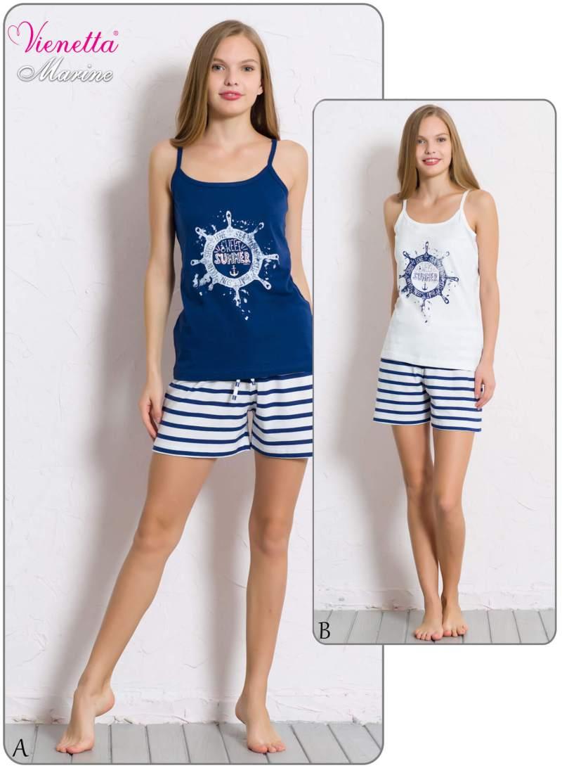 Пижама женская шорты 6070480342