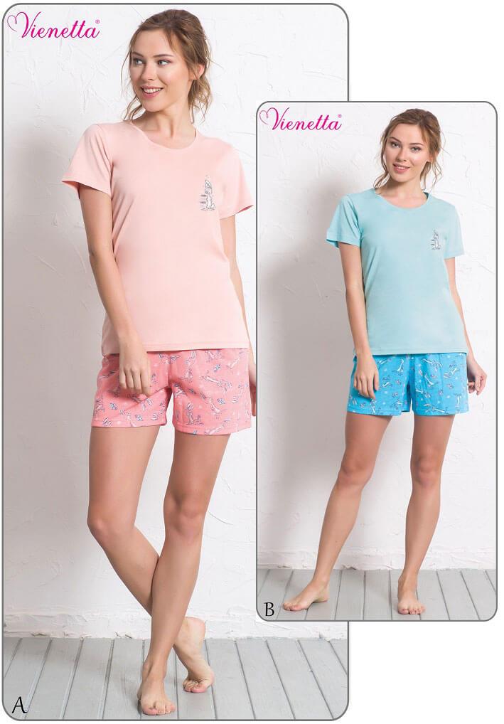 Пижама женская шорты 6080280318