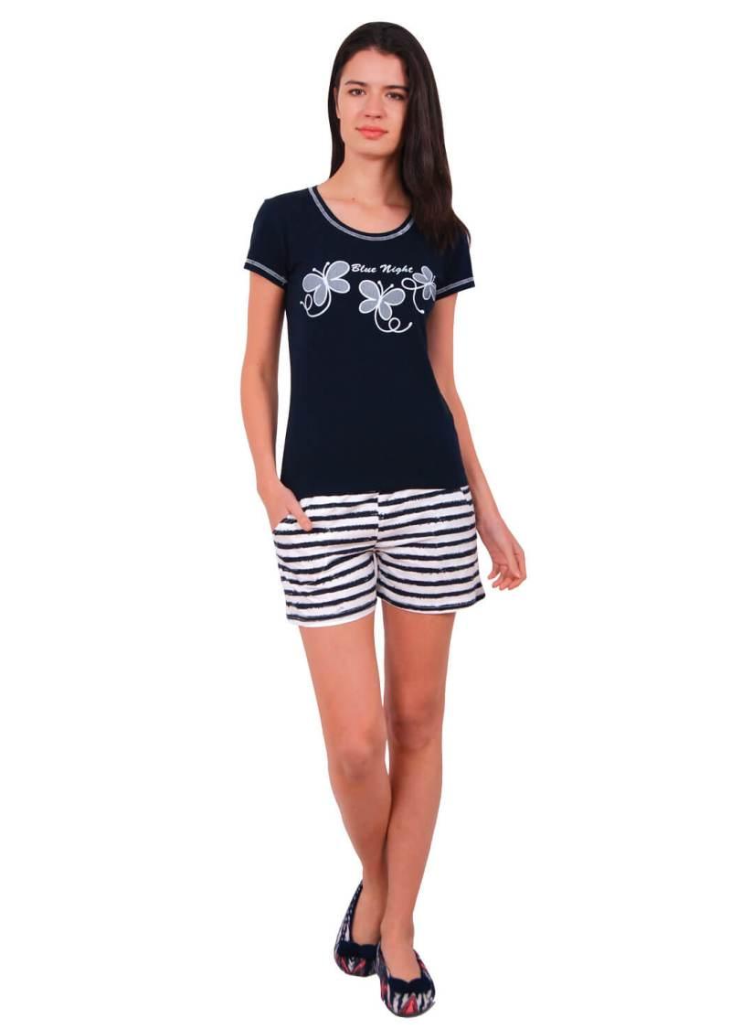 Пижама женская шорты Nicoletta 80633