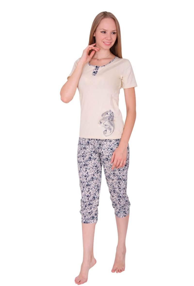 Пижама женская капри Nicoletta 82336