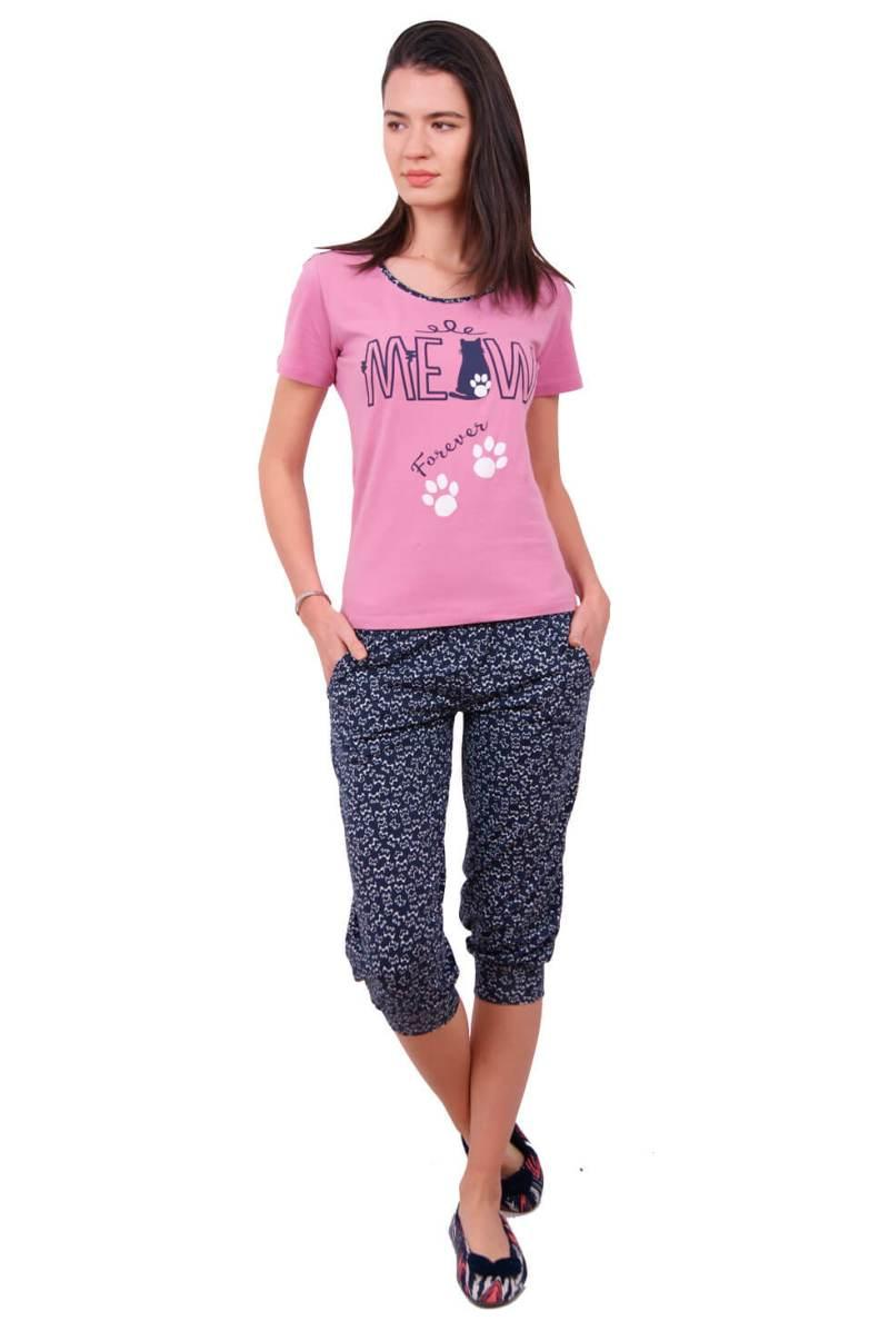 Пижама женская капри Nicoletta 82346