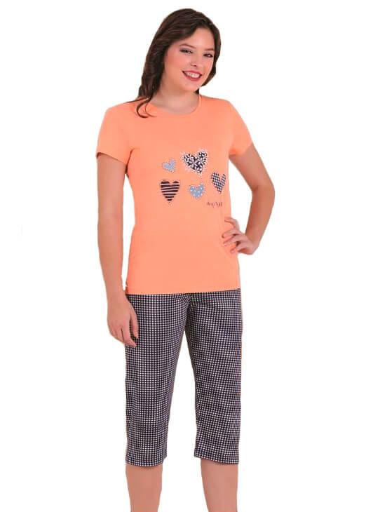 Пижама женская капри SAB. H 52810