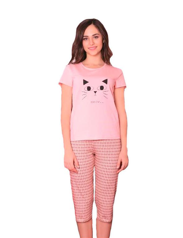 Пижама женская капри SAB. H 52829