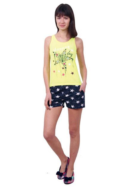 Пижама женская шорты Nicoletta 80678