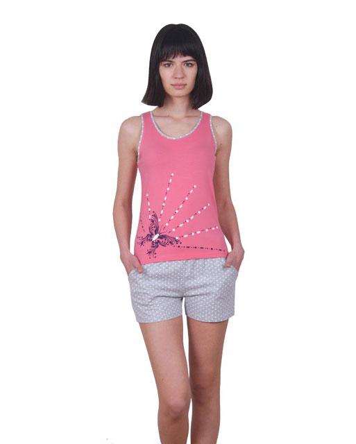 Пижама женская шорты Nicoletta 80691