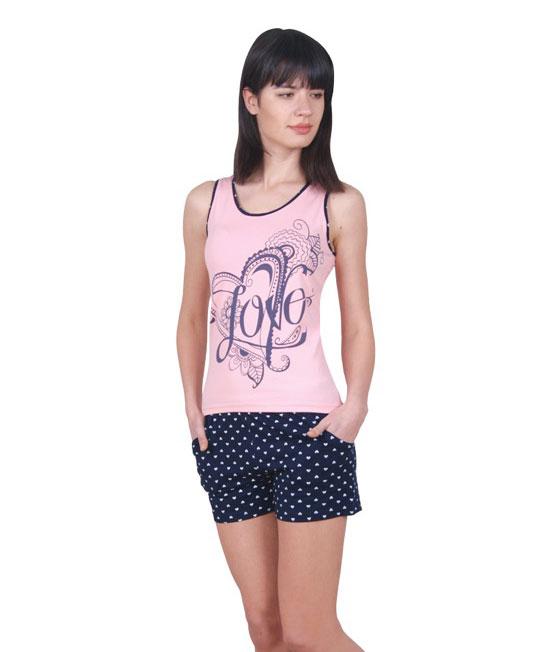 Пижама женская шорты Nicoletta 80693