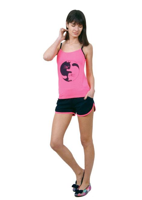 Пижама женская шорты Nicoletta 80676