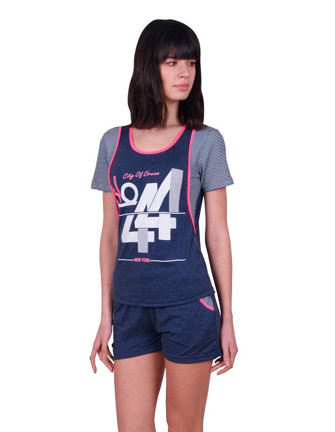 Пижама женская шорты Nicoletta 80716
