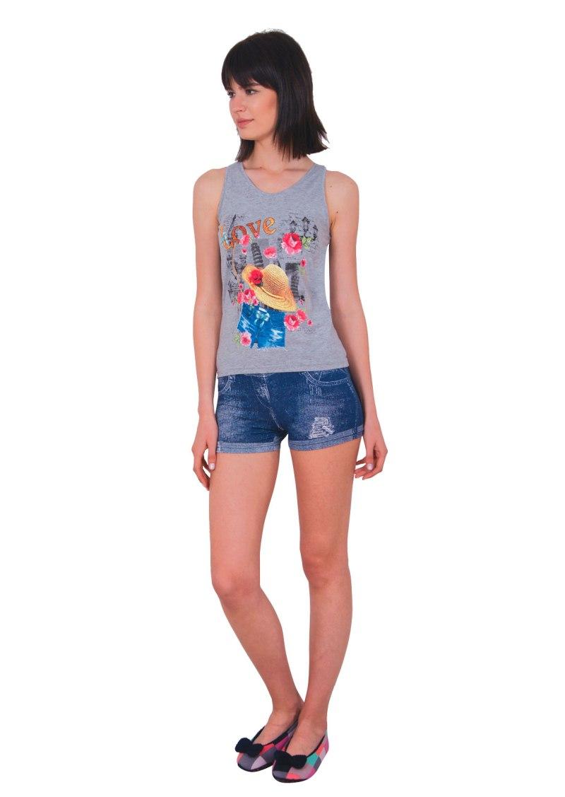 Пижама женская шорты Nicoletta 80728