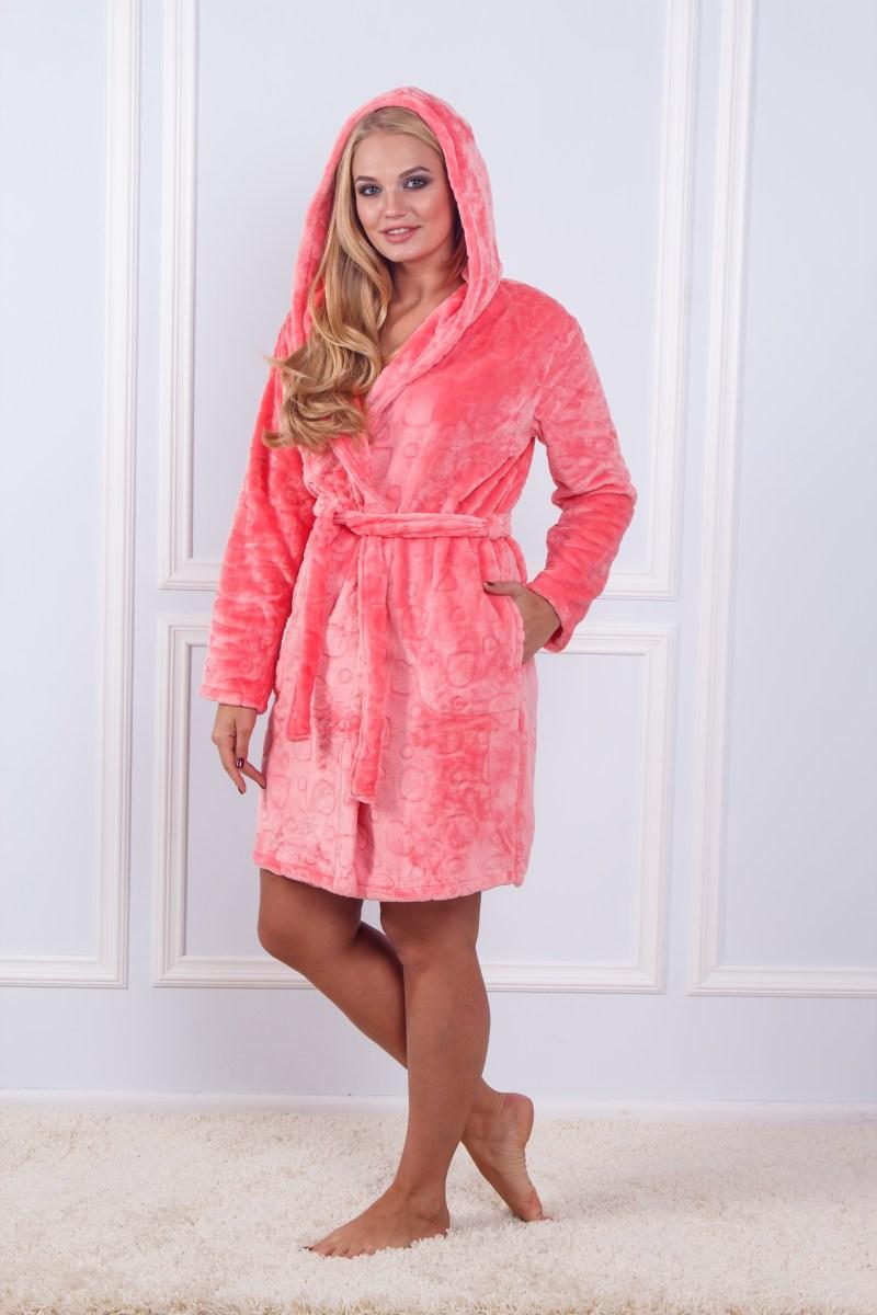 Халат махровый женский Sofi Soft K 10836
