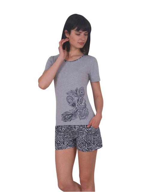 Пижама женская шорты NICOLETTA 80729